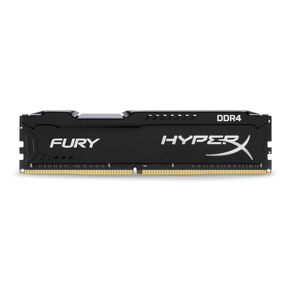 MEMORIA KINGSTON HYPERX FURY 8GB (1X8) DDR4 2666MHZ PRETA HX426C16FB3/8