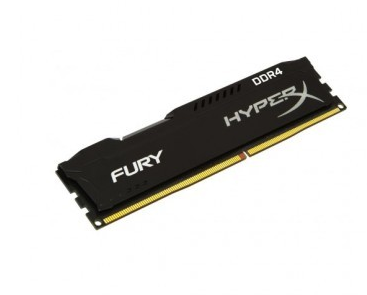MEMORIA KINGSTON HYPERX FURY 8GB DDR4 2400MHZ BLACK
