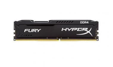 MEMORIA KINGSTON HYPERX FURY 8GB DDR4 2400MHZ BLACK