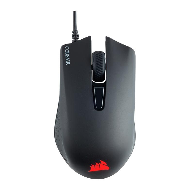 MOUSE GAMER CORSAIR HARPOON RGB 6000DPI MULTI COLOR PRETO CH-9301011-NA