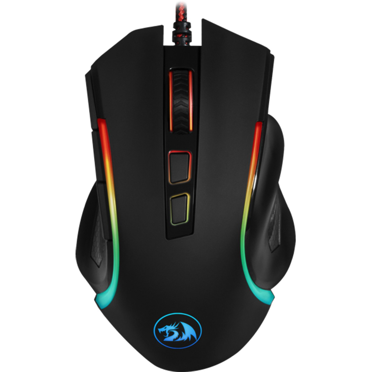 MOUSE GAMER REDRAGON GRIFFIN RGB 7200DPI M607