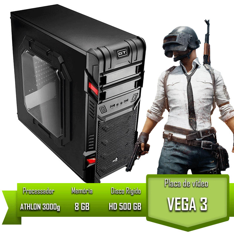 PC HOME ATHLON 3000G / 8GB MEM / HD 500GB