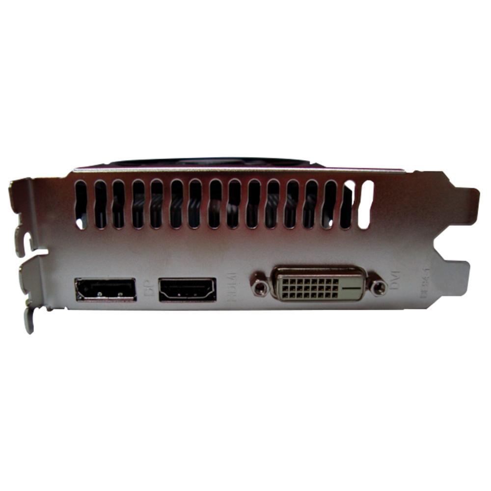 PLACA DE VIDEO AFOX RADEON RX 550 4GB 128-BIT AFRX550-4096D5H3