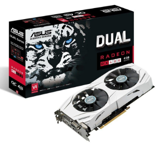 Placa de Video Asus RX 480 4GB DUAL