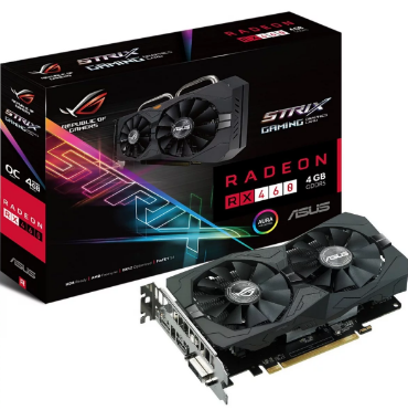 Placa de Video Asus Strix RX 460 4gb