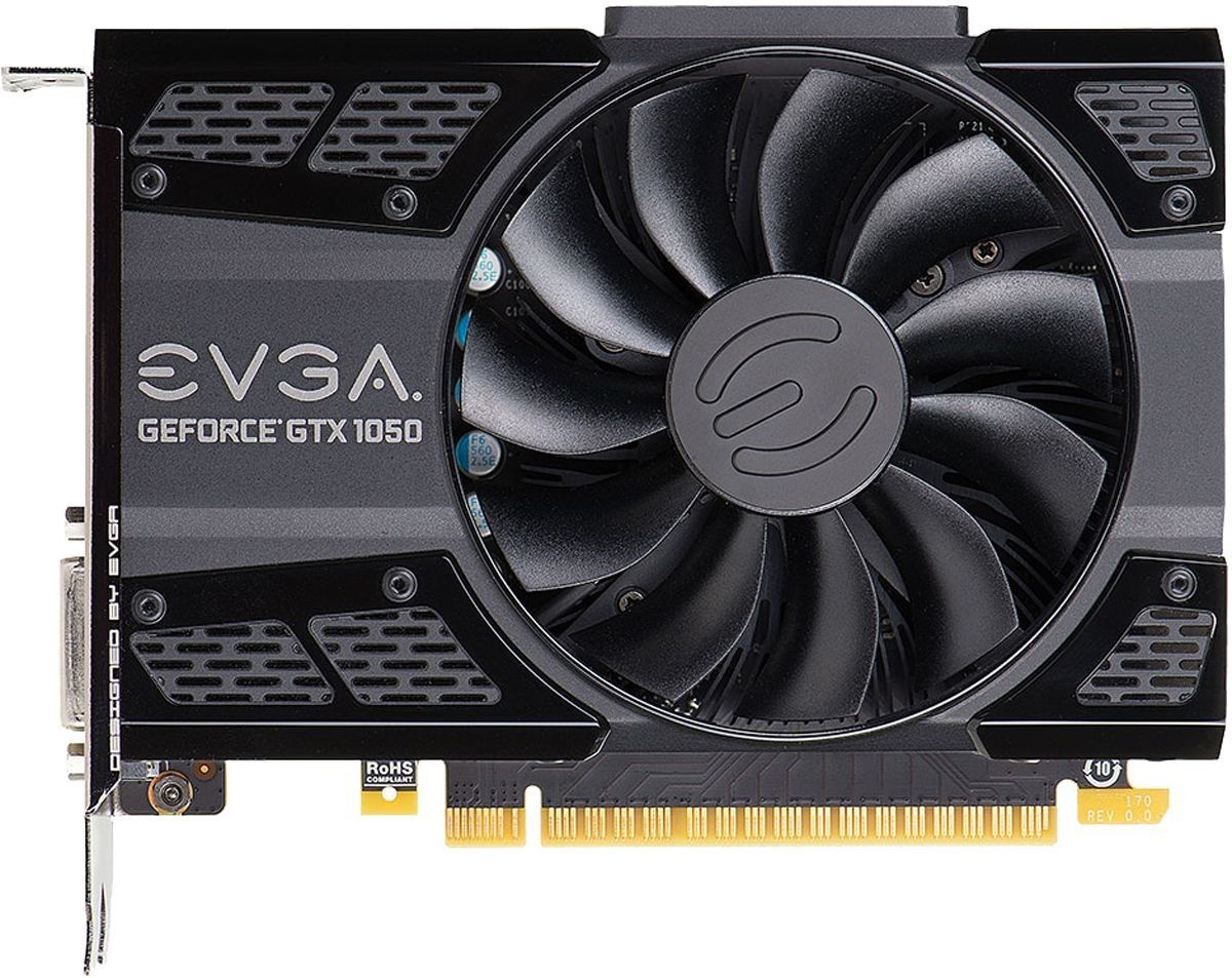 PLACA DE VÍDEO EVGA GEFORCE GTX 1050 SC 2GB GDDR5 128BIT 02G-P4-6152-KR
