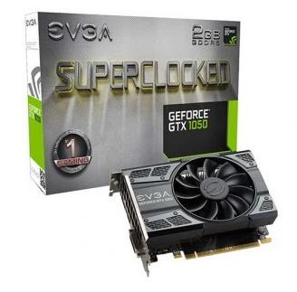 Placa de Vídeo EVga GTX 1050 2gb Superclocked
