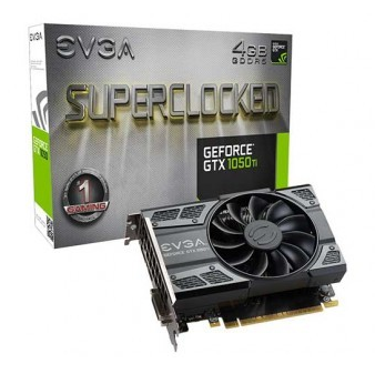 Placa de Vídeo EVGA GTX 1050 ti 4GB SUPERCLOCKED