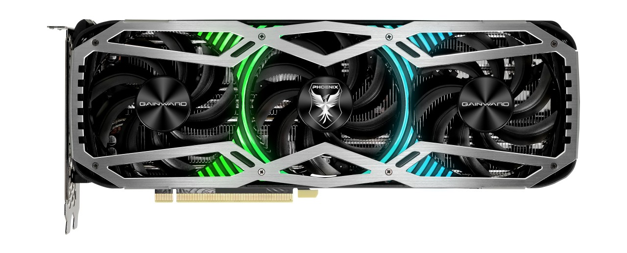 Placa de Video Gainward GeForce RTX 3070 Phoenix GS 8Gb GDDR6X 256 Bit