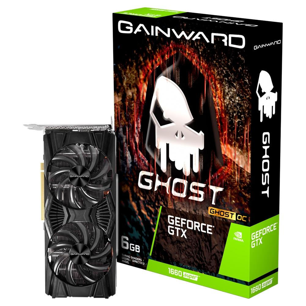 PLACA DE VIDEO GAINWARD GEFORCE GTX 1660 6GB SUPER GHOST OC G6 192B NE6166SS18J9-1160X
