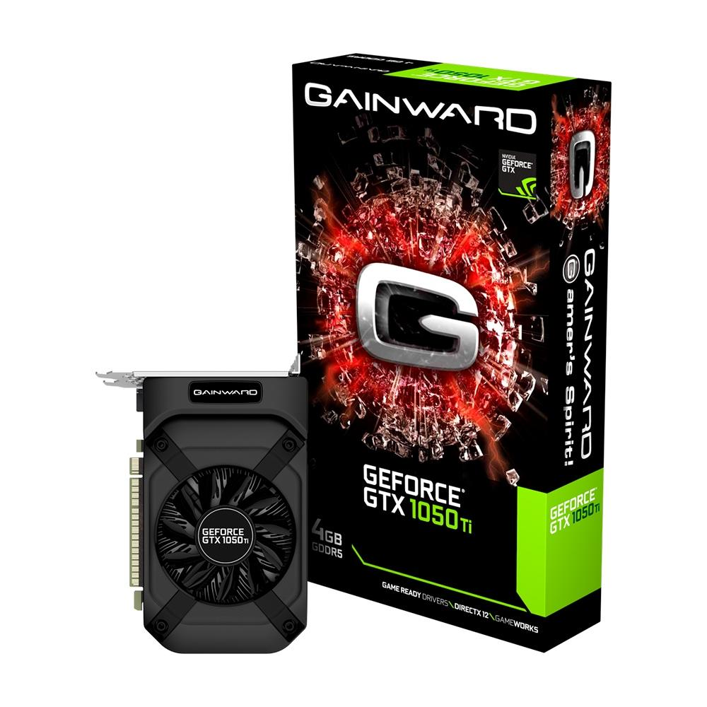 Placa de Video Gainward NVIDIA GeForce GTX 1050 Ti 4GB GDDR5 NE5105T018G1-1070F