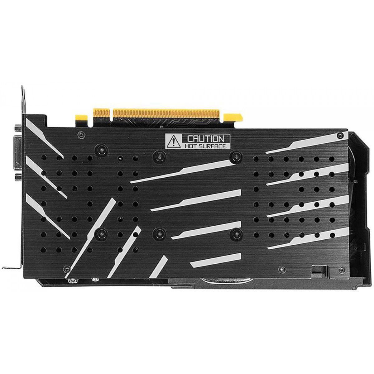 PLACA DE VIDEO GALAX GEFORCE GTX 1660 SUPER EX 6GB GDDR6 1-CLICK OC 192-BIT 60SRL7DS03ES