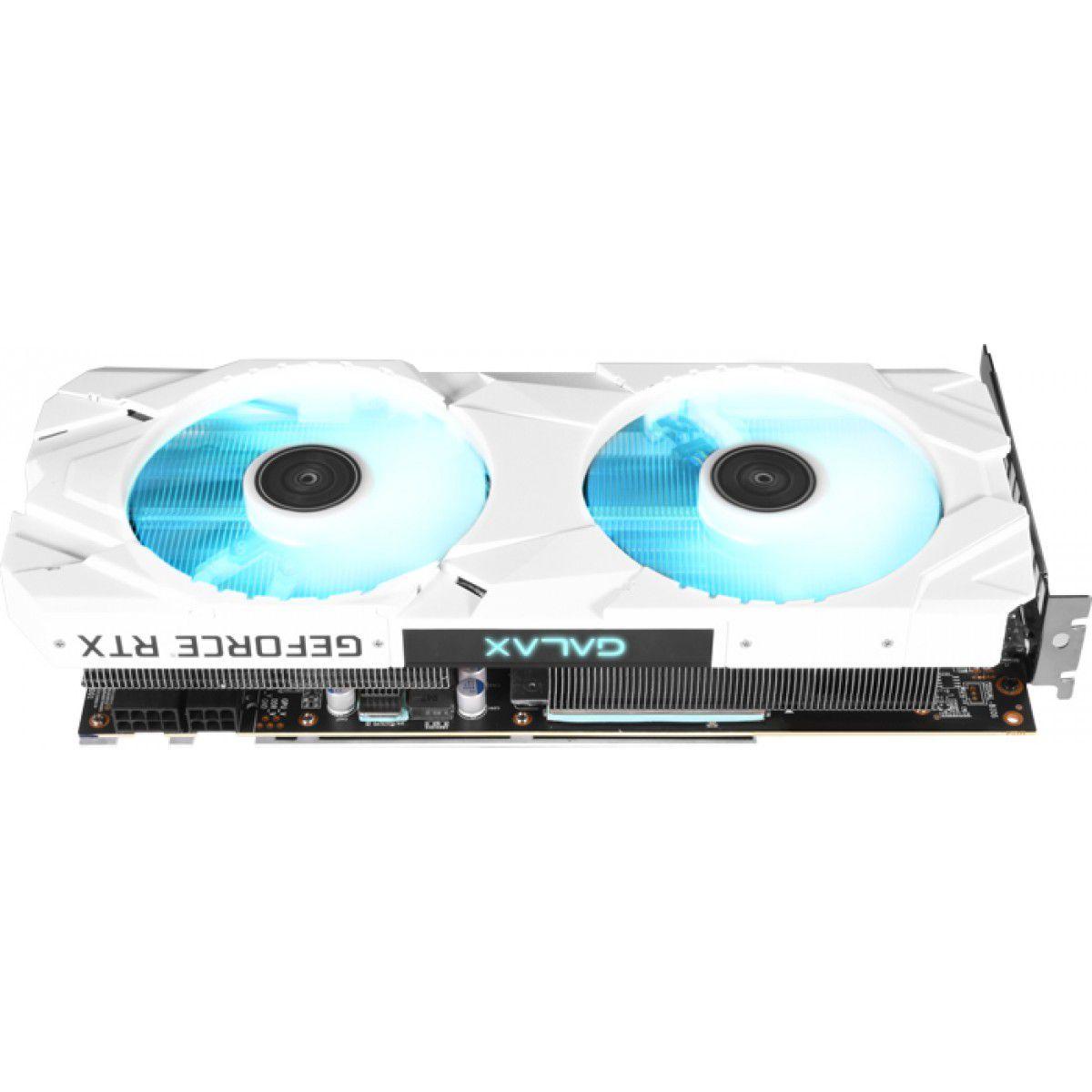 PLACA DE VIDEO GALAX GEFORCE RTX 2060 8GB SUPER EX WHITE 1CLICK OC 256B GALAX 26ISL6MPX6EW