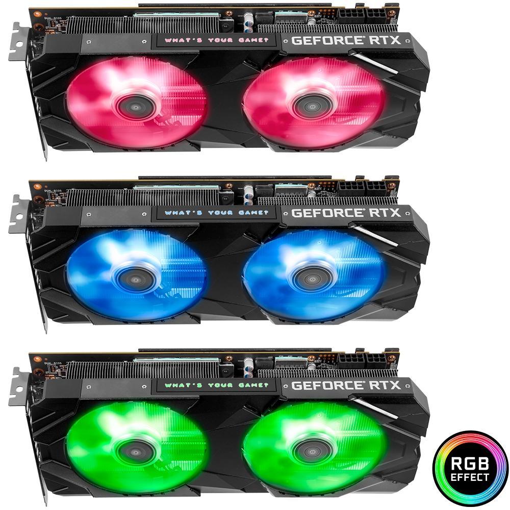 PLACA DE VIDEO GALAX GEFORCE RTX 2060 SUPER EX 8GB GDDR6 1-CLICK OC 256-BIT