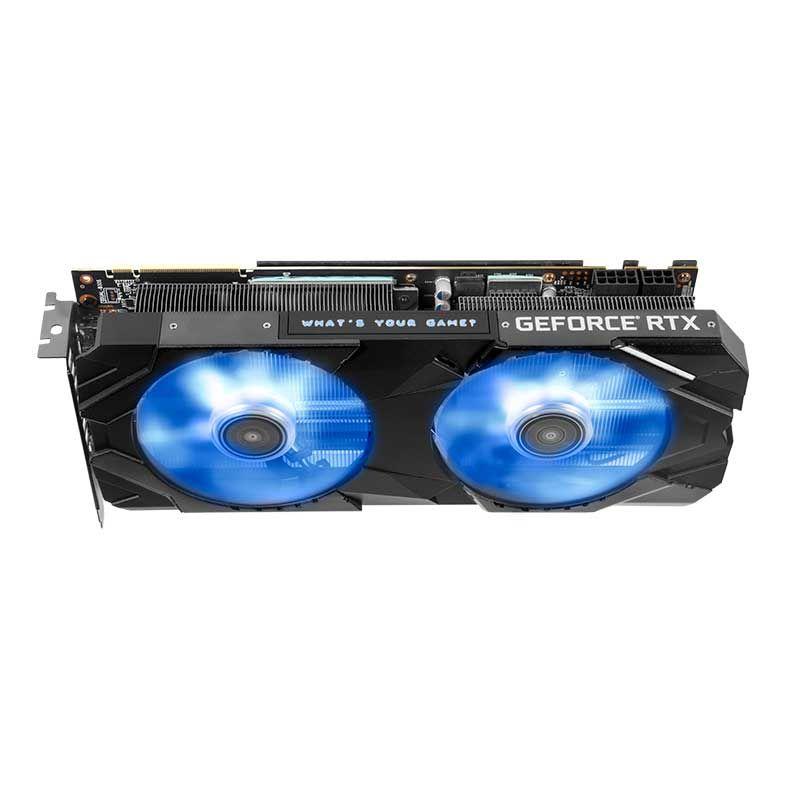 PLACA DE VIDEO GALAX GEFORCE RTX 2070 SUPER EX 8GB GDDR6 1-CLICK OC 256-BIT 27ISL6MDU9EX