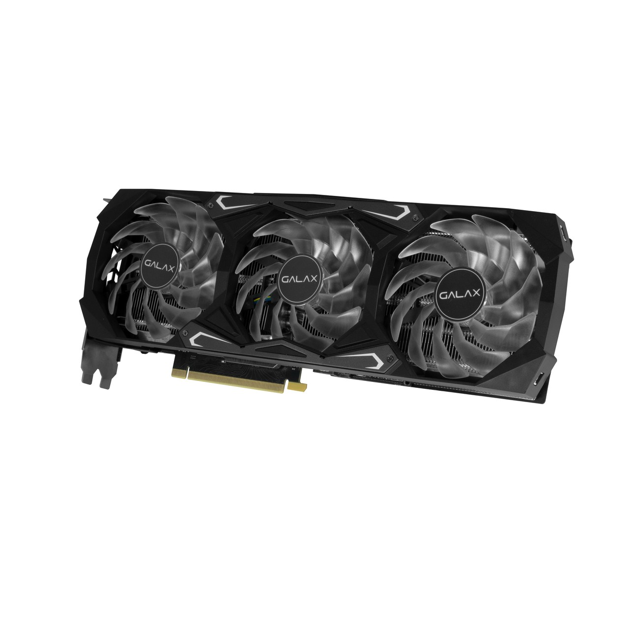 Placa de Video Galax GeForce RTX 3070 SG (1-Click OC) 8GB GDDR6X 256 bit 37NSL6MD1GNA