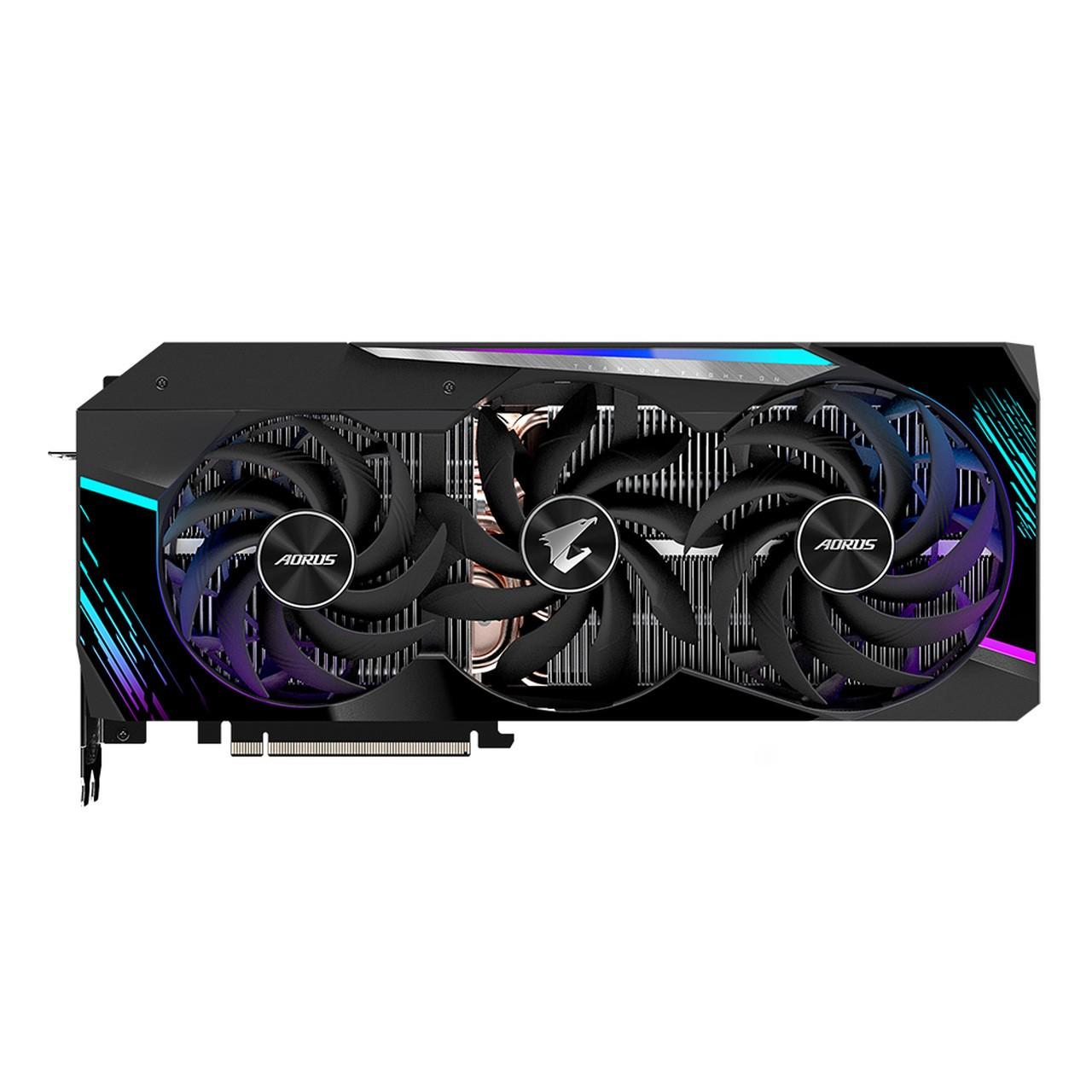 Placa de Video Gigabyte AORUS GeForce RTX 3080 MASTER 10G 10GB GDDR6X 320-bit - GV-N3080AORUS M-10GD