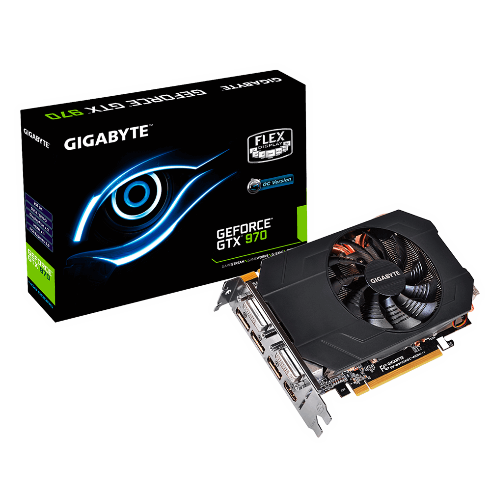 PLACA DE VÍDEO GIGABYTE GEFORCE GTX 970 MINI-ITX 4GB GDDR5 256BIT