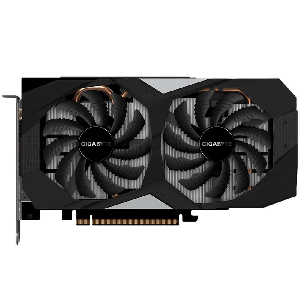 Placa de Video Gigabyte Geforce RTX 2060 OC Dual 6GB GDDR6 192Bit GV-N2060OC-6GD