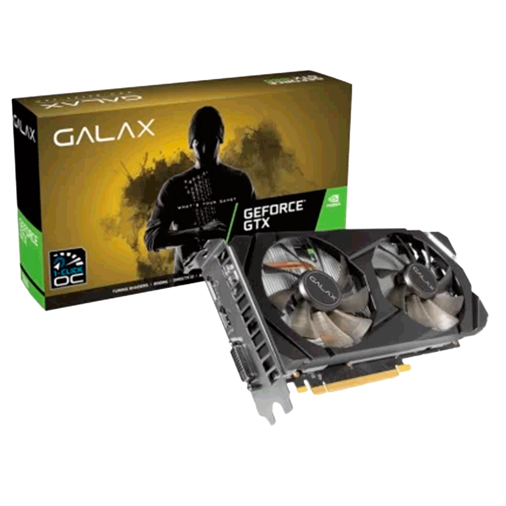 PLACA DE VIDEO GTX 1660 OC 6GB 1-CLICK GALAX NVIDIA GEFORCE