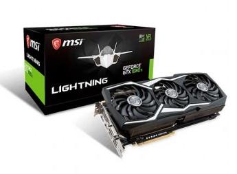 Placa de Vídeo MSI GTX 1080 ti Lightning Z 11GB