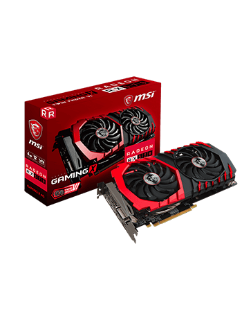 Placa de Vídeo MSI RX 480 4GB GAMING X