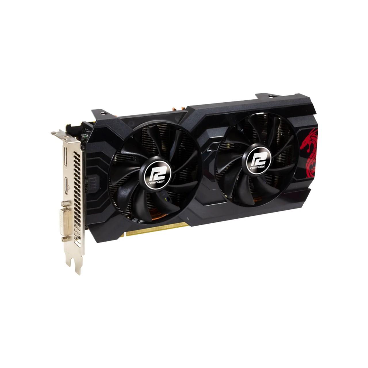 PLACA DE VIDEO POWER COLOR RADEON RX 570 4GB RED DRAGON AXRX 570 4GBD5-DHDV3/OC