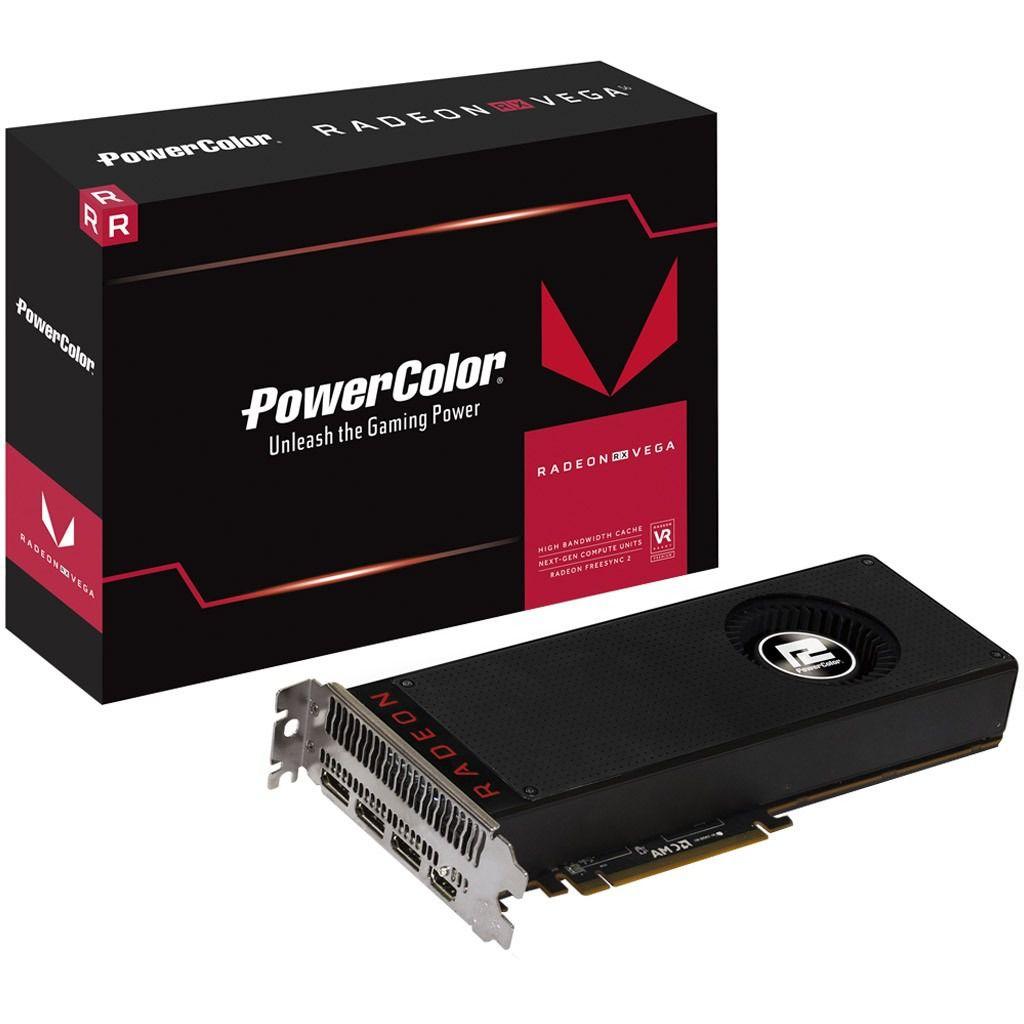PLACA DE VIDEO POWERCOLOR RADEON RED DEVIL RX VEGA 56 8GB HBM2 AXRX VEGA 56 8GBHBM2-2D2H/OC