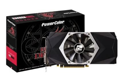 Placa de Video PowerColor RX 470 Red Dragon 4gb