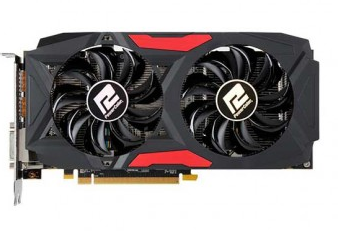 Placa de Vídeo PowerColor RX 580 Red Dragon 8GB