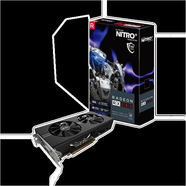 PLACA DE VIDEO SAPPHIRE RADEON RX 580 8GB GDDR5 NITRO+ 256-BIT 11265-01-20G