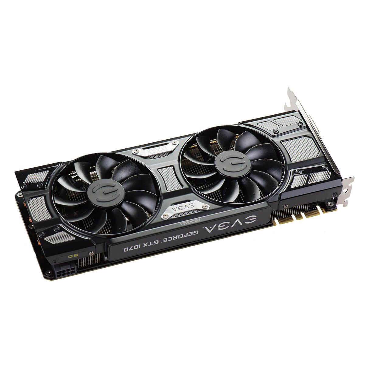 Placa de Vídeo VGA EVGA NVIDIA GeForce GTX 1070 SC 8GB GDDR5 Black Edition - 08G-P4-5173-KR