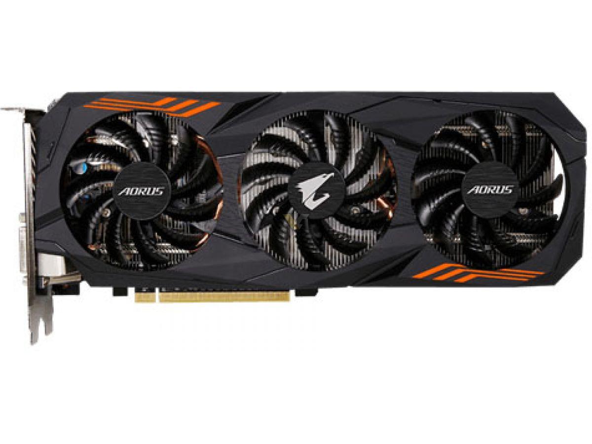 Placa de Video Gigabyte GeForce GTX 1060 6gb AORUS WINDFORCE 3X RGB