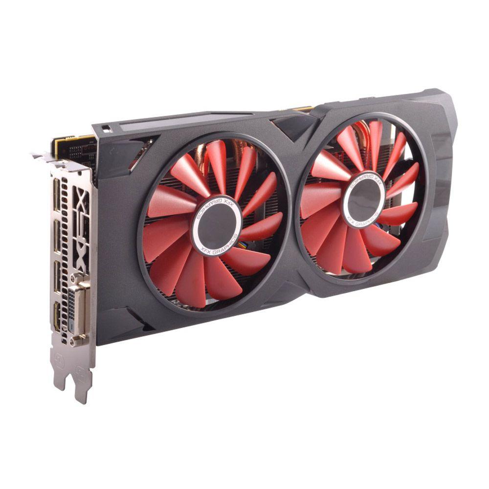 Placa de Video  XFX AMD Radeon RX 570 RS Black Edition 4GB