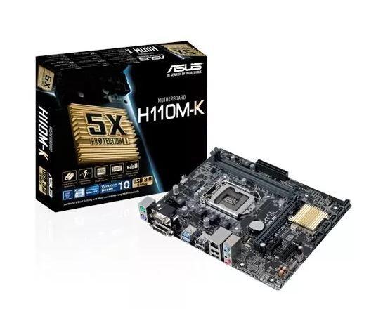 Placa Mãe Asus H110m-k Intel Lga 1151