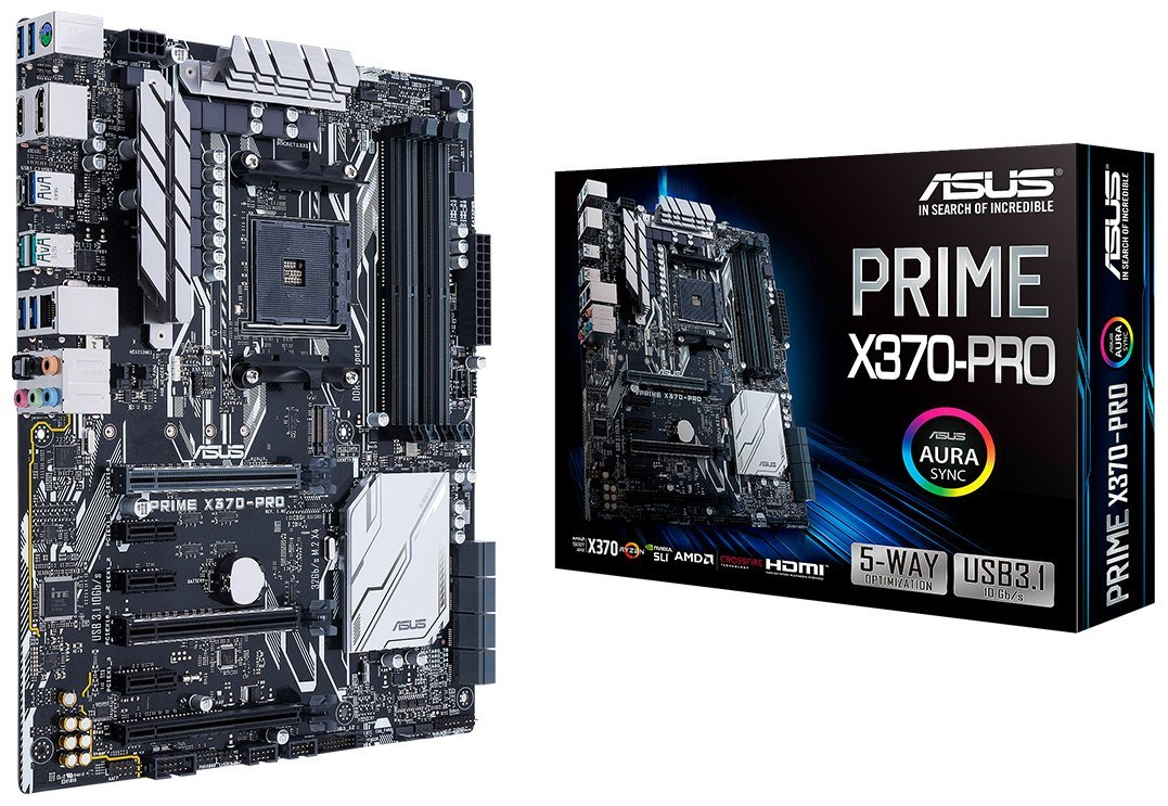 PLACA MÃE ASUS PRIME X370-PRO, SOCKET AM4 CHIPSET AMD X370
