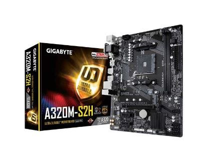 PLACA MÃE GIGABYTE GA-A320M-S2H , AM4 CHIPSET AMD A320