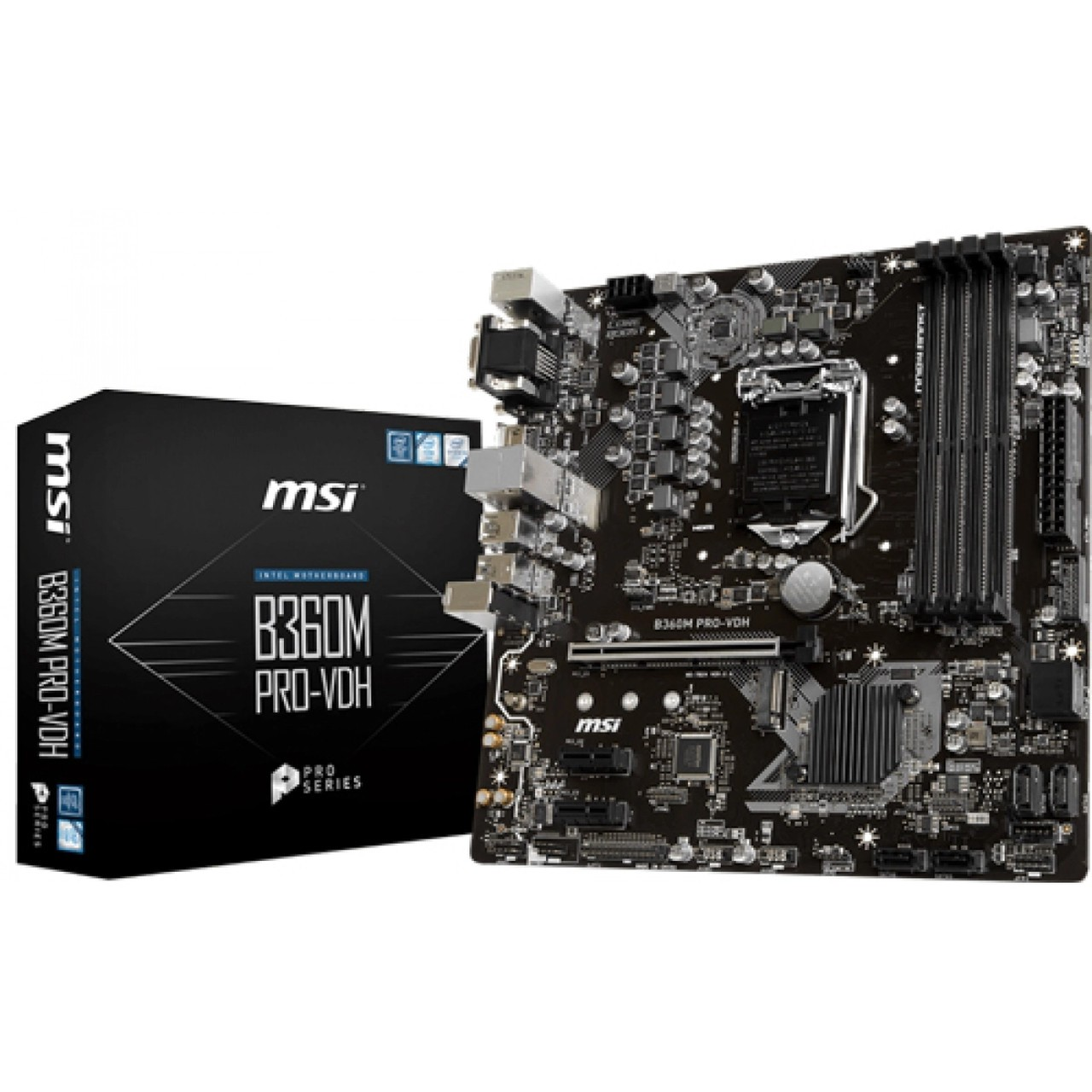 PLACA MAE MSI B360M PRO-VDH DDR4 SOCKET LGA1151 CHIPSET INTEL B360