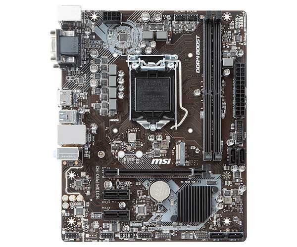 PLACA MAE MSI H310M PRO-M2 PLUS DDR4 SOCKET LGA1151 CHIPSET INTEL H310