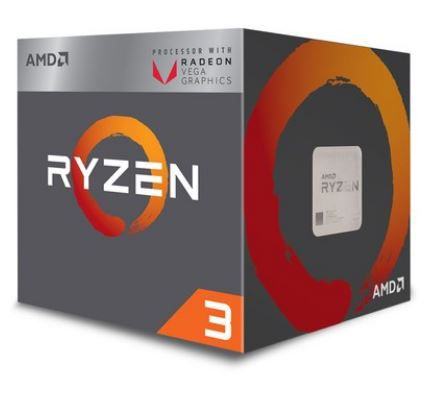 PROCESSADOR AMD RYZEN 3 2200G QUATRO NÚCLEOS CACHE 6MB 3.5GHZ AM4
