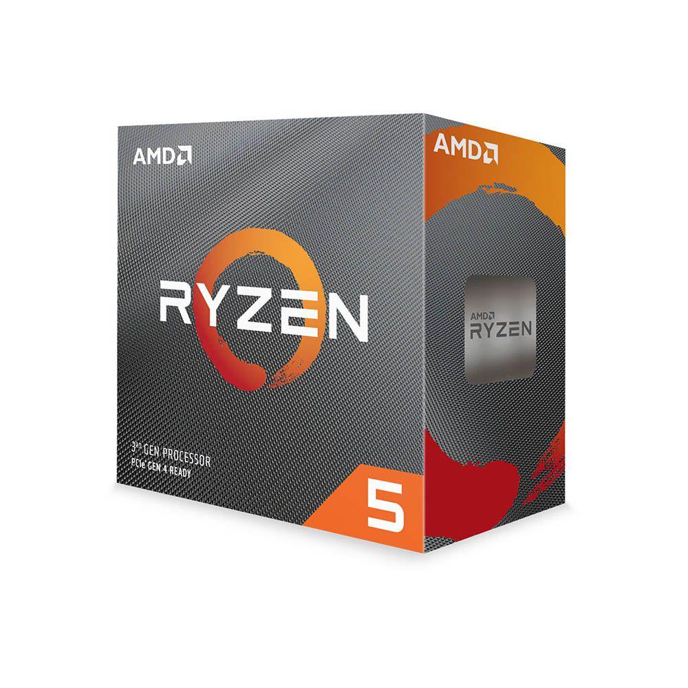 PROCESSADOR AMD RYZEN 5 3600 HEXA-CORE 3.6GHZ (4.2GHZ TURBO) 32MB CACHE AM4 YD3600BBAFBOX