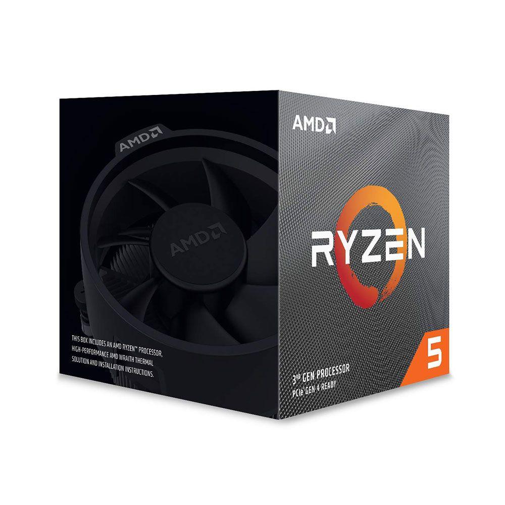 Processador AMD Ryzen 5 3600X 3.8GHz (4.4GHz Turbo) Hexa-Core 36MB AM4