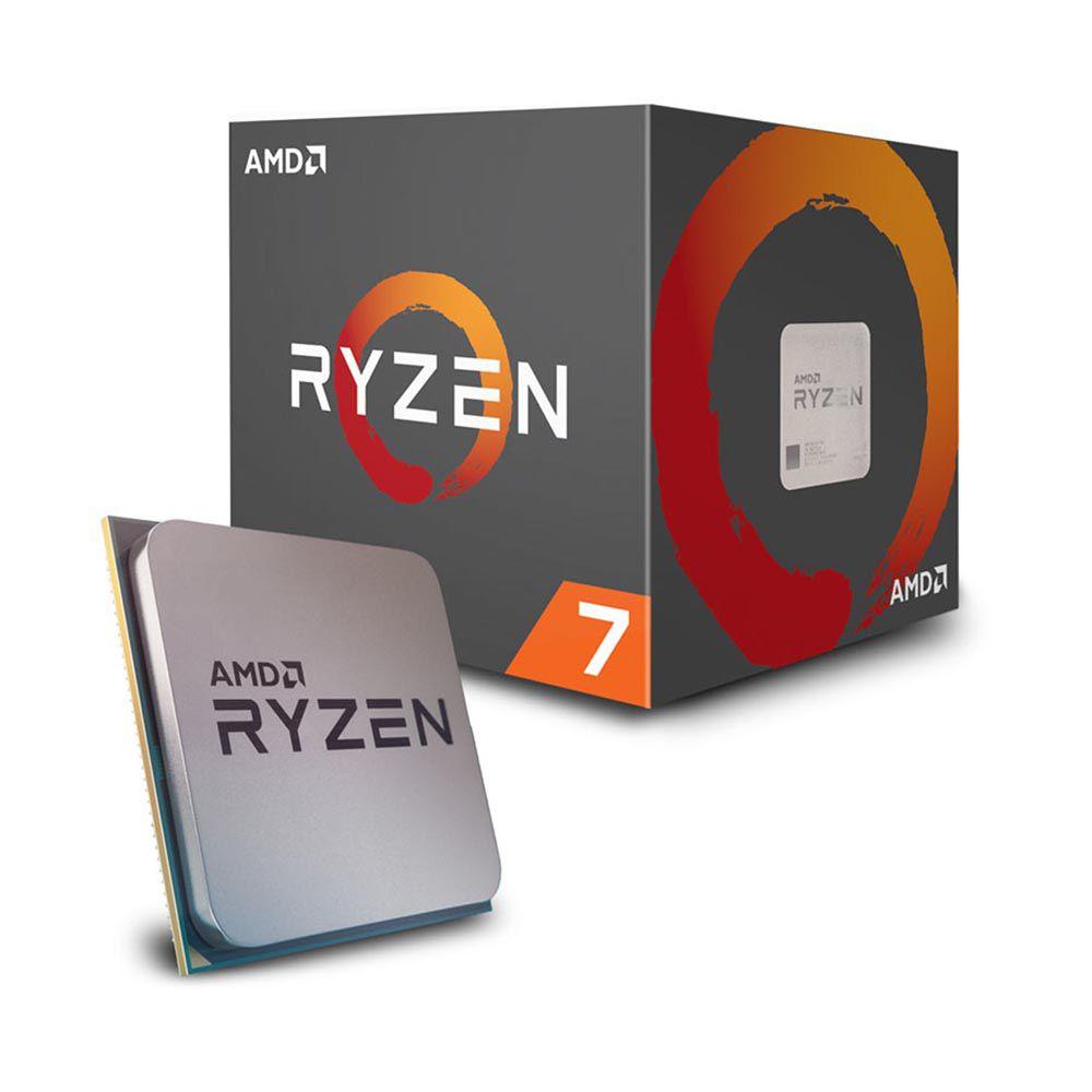 PROCESSADOR AMD RYZEN 7 2700 OCTA-CORE 3.2GHZ (4.1GHZ TURBO) 20MB CACHE AM4 YD2700BBAFBOX