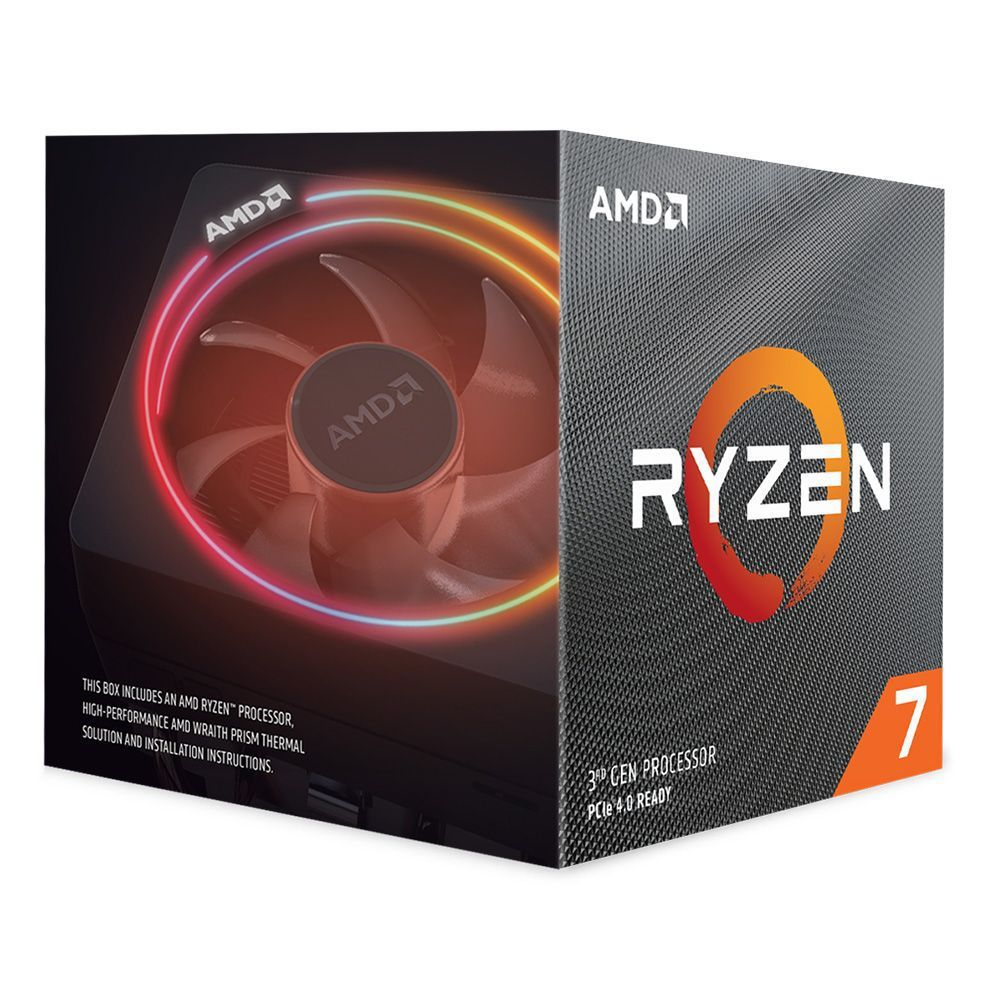 PROCESSADOR AMD RYZEN 7 3700X 3.6GHZ (4.4GHZ TURBO) 8 CORE 16-THREAD COOLER WRAITH PRISM RGB
