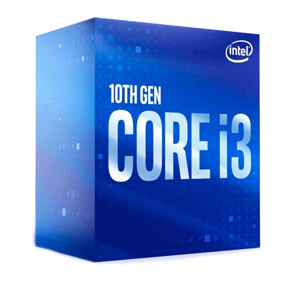 Processador Intel Core I3-10100 QUAD-CORE 3.6GHZ (4.3GHZ TURBO) 6MB CACHE LGA1200 BX8070110100