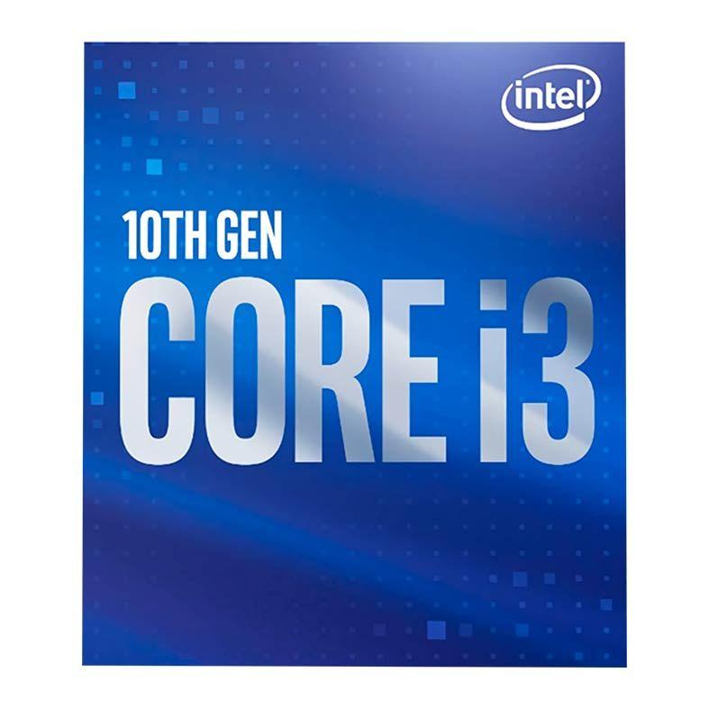 Processador Intel Core I3-10100 QUAD-CORE 3.6GHZ (4.3GHZ TURBO) 6MB CACHE LGA1200 BX8070110100