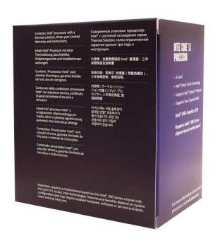 PROCESSADOR INTEL CORE I3-8100 COFFEE LAKE LGA 1151 3.6GHZ 6MB CACHE