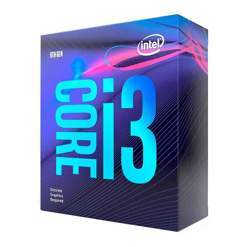PROCESSADOR INTEL CORE I3 9100F QUAD-CORE 3.6GHZ (4.2GHZ TURBO) 6MB CACHE LGA1151
