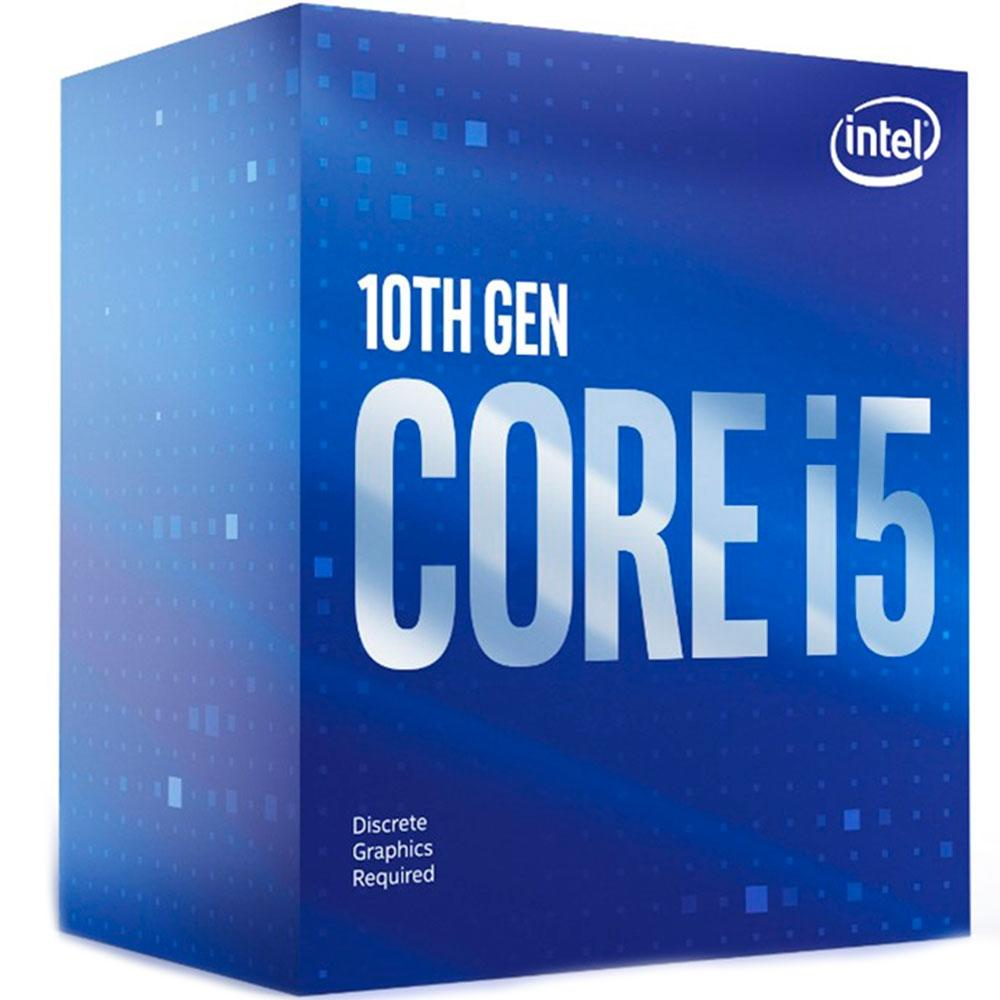 Processador Intel Core i5 10400F 2.90GHz (4.30GHz Turbo) 6-Cores 12-Threads LGA 1200 BX8070110400F