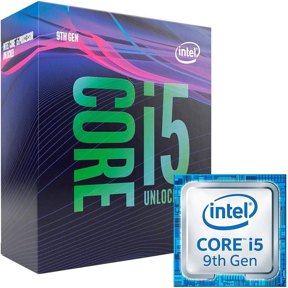 PROCESSADOR INTEL CORE I5-9600K HEXA-CORE 3.7GHZ (4.6GHZ TURBO) 9MB CACHE LGA1151 BX80684I59600K